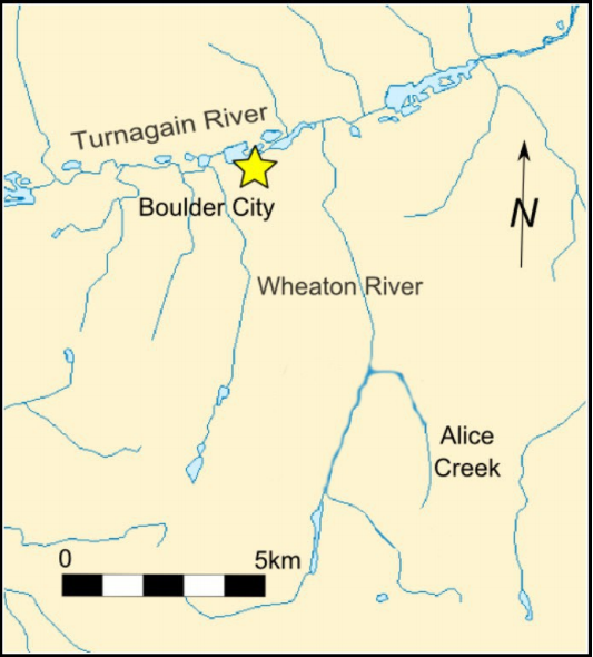 Boulder Site Map